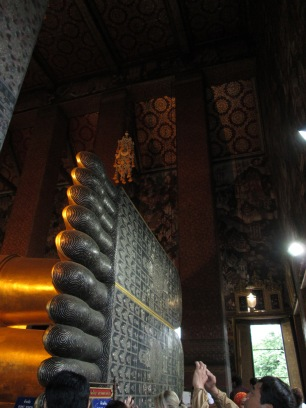 The Reclining Buddha's Feet
