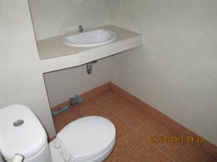 Western bathroom, yay!