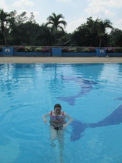 Sam at Loei Palace Hotel Pool
