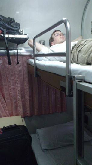 Jack on upper-bunk